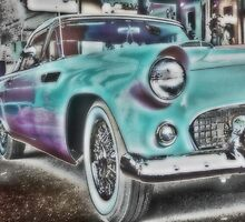 1956 Thunderbird by NancyC