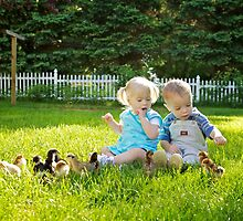 Toddlers & Chickies by Ann Rodriquez