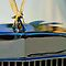 "1986 Zimmer Golden Spirit ""Eagle"" Hood Ornament 2 by Jill Reger"