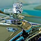 "1933 Stutz ""Bearcat"" Hood Ornament 2 by Jill Reger"