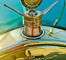 1923 Ford Model T Hood Ornament - Boyce MotoMeter by Jill Reger
