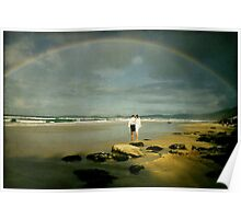 Rainbow Beach... Poster