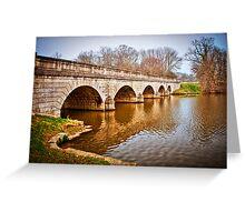 Bridge at Virginia Water, Windsor, UK. Greeting Card