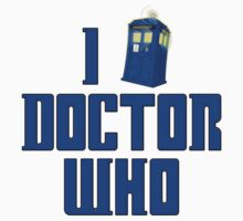 I Love Love Tardis Doctor Who by gleekgirl