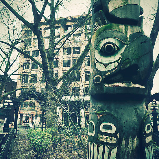 """Seattle Totem"" by eleven12design"