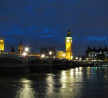 Big Ben at night by Andre090904