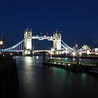 Tower Bridge at night by Andre090904