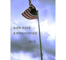 RON PAUL REVOLUTION 2012 Photographic Print