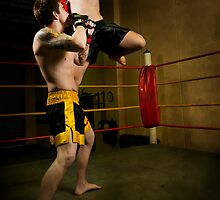 Kick Boxing by Amelia Chen