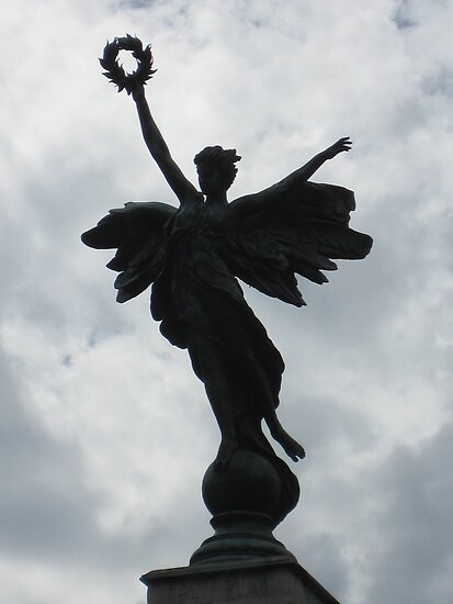 Memorial Angel in Lewes, East Sussex, UK by DJ-Stotty