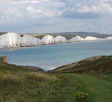Seven Sisters, South Downs National Park, East Sussex UK by DJ-Stotty