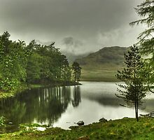 The Tarn In May by Jamie  Green