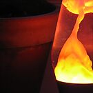 Orange Lava Lamp by RKLazenby