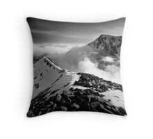 Ben Nevis and the Carn Mor Dearg arête, Scotland. Throw Pillow