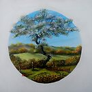 The Fairy Tree - oil paintng by Avril Brand