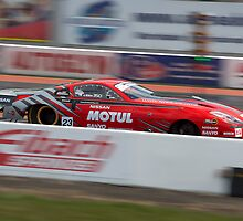 Dragster Nissan 350Z by Martyn Franklin