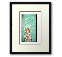 Mornin' Joe Framed Print
