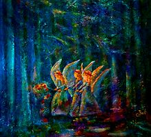 Forest Flower Fairies by ClaireBull
