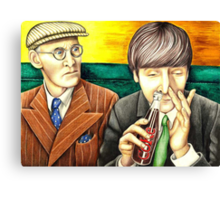 Wilfrid and John - scene from A Hard Day's Night 205 views Canvas Print