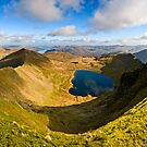 Red Tarn, Helvellyn. Cumbria. UK by David Lewins LRPS