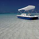 Beach at Kuredu Island Resort, Maldives by DJ-Stotty