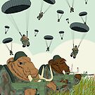 mammoth paratroopers by FireRabbit