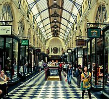 Royal Arcade, Melbourne by Steve Edwards