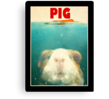 Little Sea Pig Canvas Print