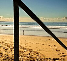 Lorne Beach  Great Ocean Road  Victoria by James  Key