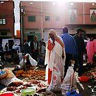In the market by Jodi Fleming
