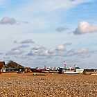 Aldeburgh Beach  Suffolk UK by James  Key