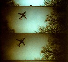 Plane Lomo - Denmark by Barnewitz