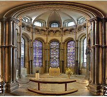 Chapel of Saints and Martyrs of Our Own Time, Canterbury Cathedral, England Photographic Print