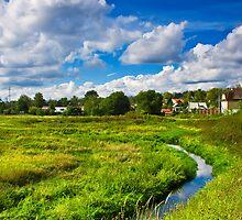 rural landscape by Medeu