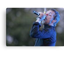 Chris Martin, Coldplay Canvas Print