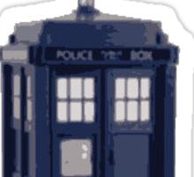 My Name Is Sexy - TARDIS Sticker