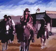 Saloon Drifters by fcruz