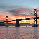 Bay Bridge Sunrise  by Nic Horton