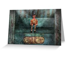 Steampunk - My favorite toy Greeting Card