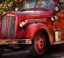 Fireman - The Garwood fire dept by Mike  Savad