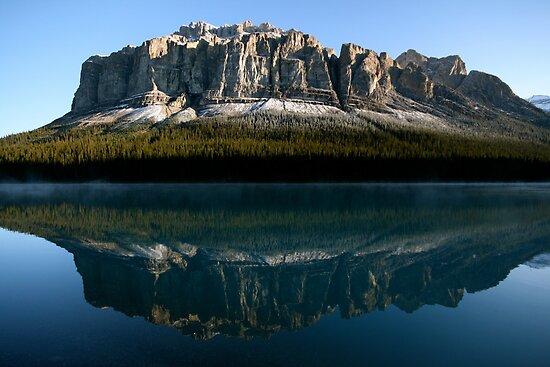 Malign Lake, Canada by bluehorizons