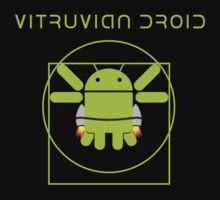 The Vitruvian Droid by Blayde
