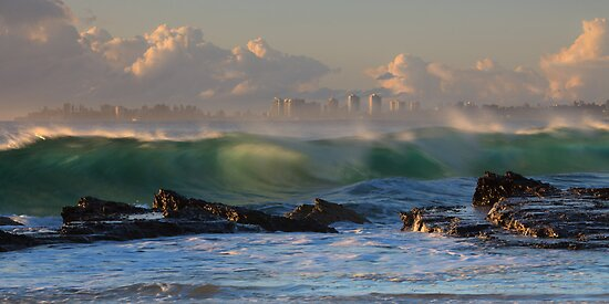 The wave by Mel Brackstone