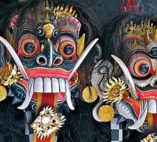 The Masks of Bali by Ali Brown