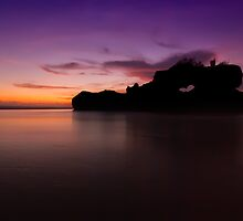 Purple Dusk at Yeh Gangga, Bali by inprast