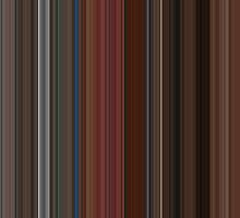 Moviebarcode: A Single Man (2009) [Simplified Colors] by moviebarcode