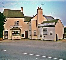 Village shop, Midlands, UK, 1980's. by David A. L. Davies