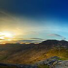 North Mournes from Hen Mountain by Przemek Czaicki