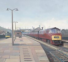 """Western"" class at Bridgend by Richard Picton"