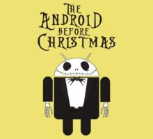 The Android Before Christmas (Small Version/Light Colors) by soulthrow